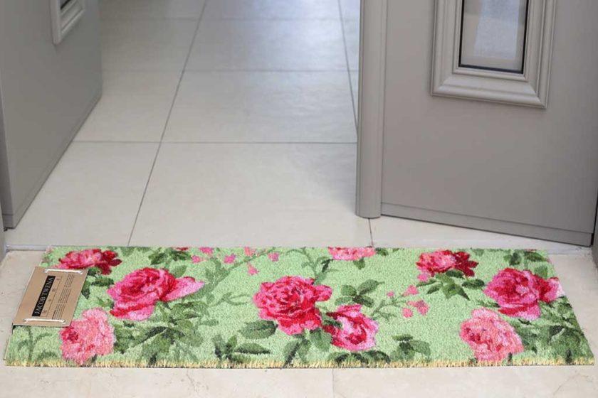 שטיח ארוך ירוק