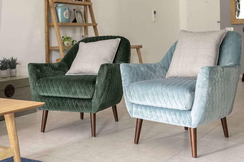 כורסאות מעוצבות לסלון