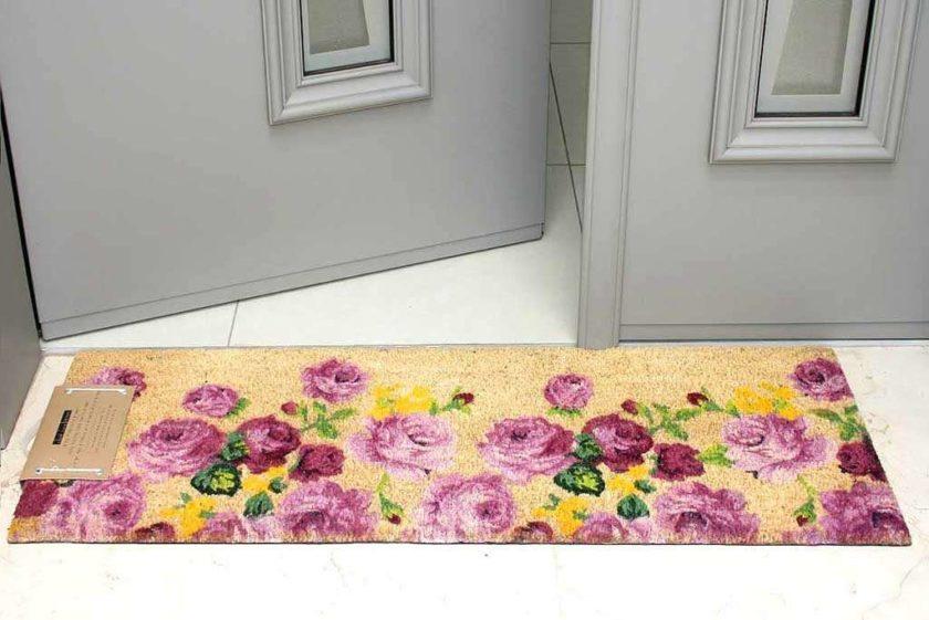 שטיח ארוך סגלגל לכניסה
