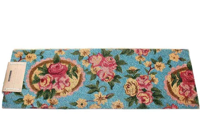 שטיח ארוך רומנטי לסף הדלת