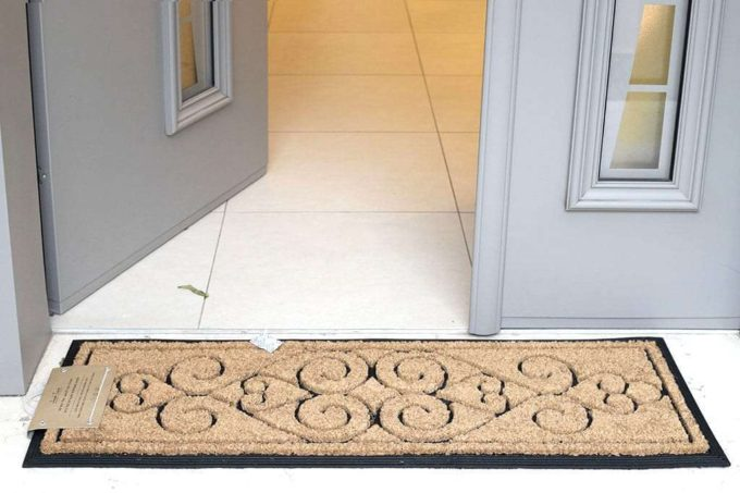 שטיח כניסה ארוך מגומי