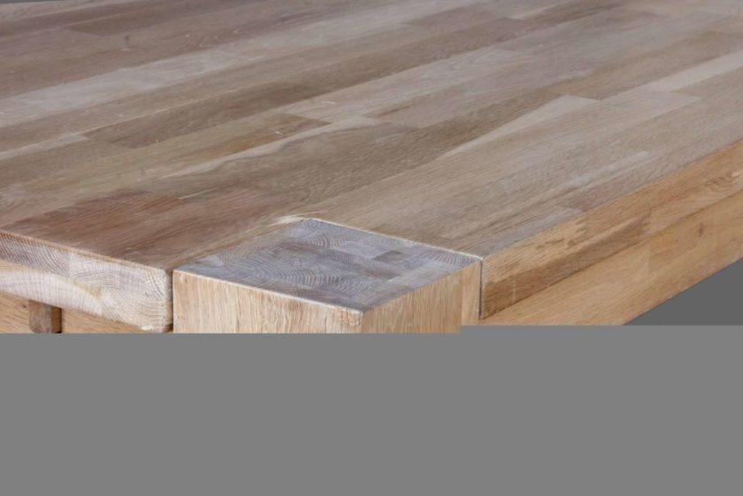 שולחן פינת אוכל מעץ אלון מלא