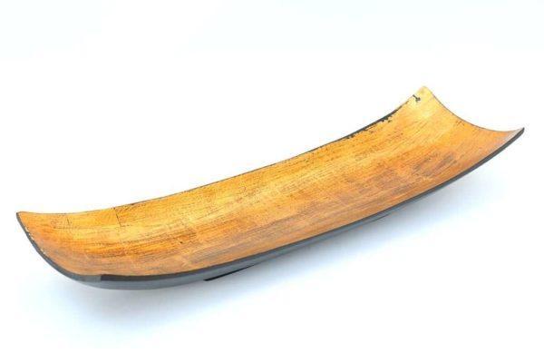 קערה ארוכה מעץ