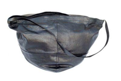 תיק צד גדול שחור