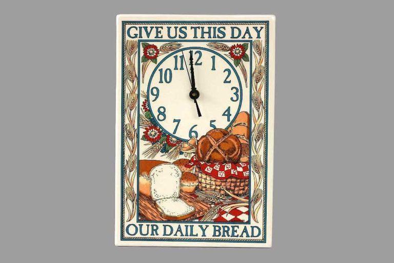 שעון קיר למטבח אפיה