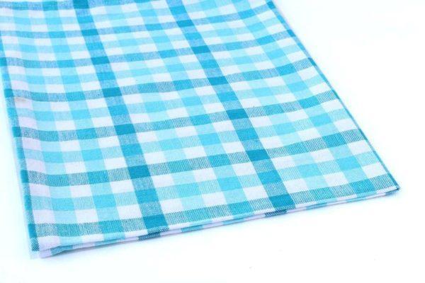מגבת כחול לבן למטבח