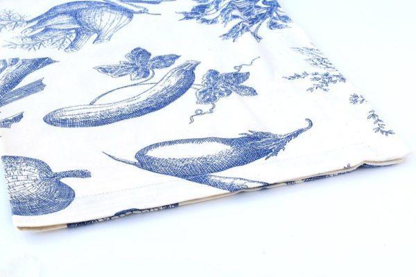 מגבת בוטניקה כחולה