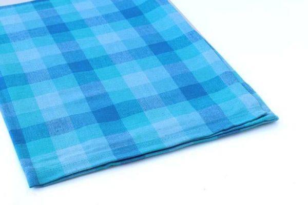 מגבת מטבח כחולה