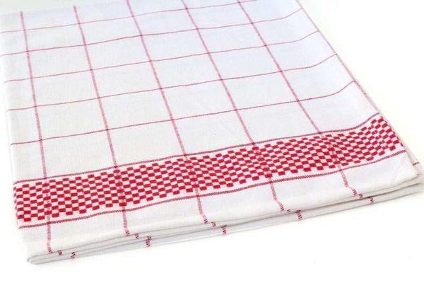מגבת בד פסים לעיצוב המטבח