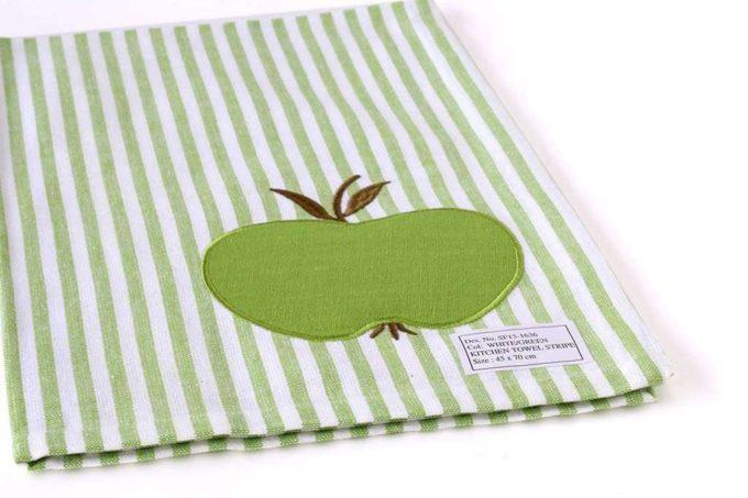 מגבת מטבח תפוח ירוק
