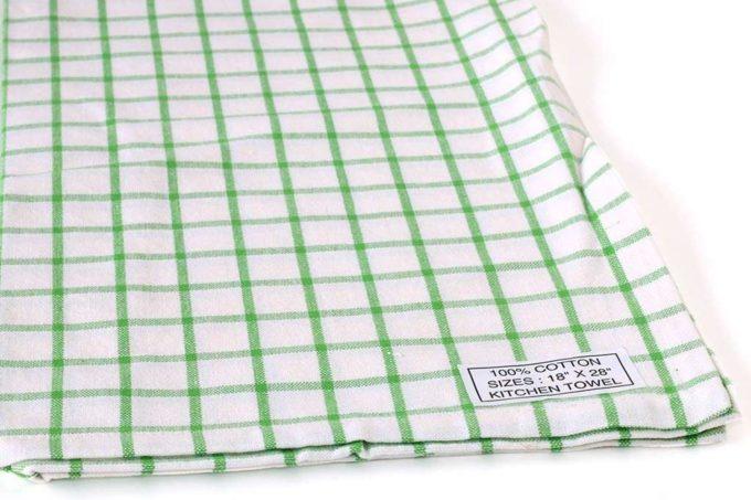 מגבת ירוקה כפרית