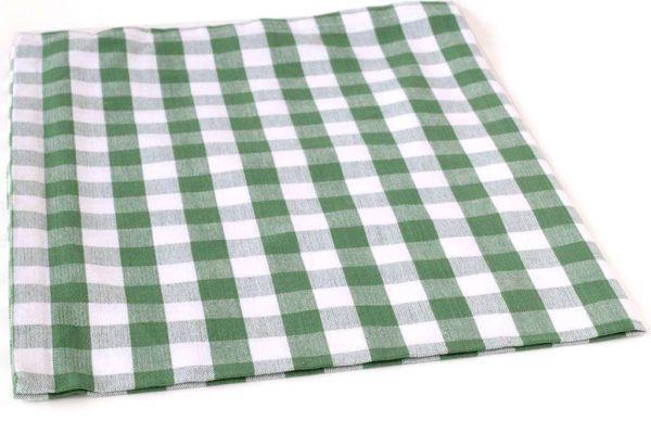 מגבת מטבח שיבוץ ירוק