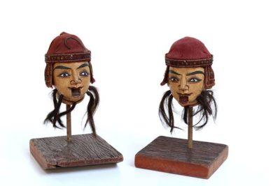 בובות בורמזיות מעץ