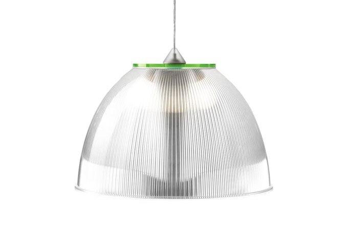 מנורה פס ירוק דמוי זכוכית
