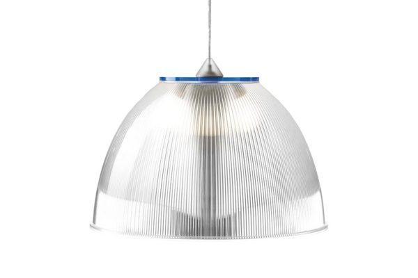 מנורה פס כחול זכוכית