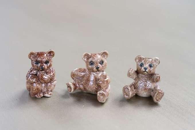 שלושה דובים חומים