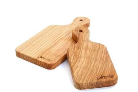 קרש חיתוך מעוצב מעץ זית