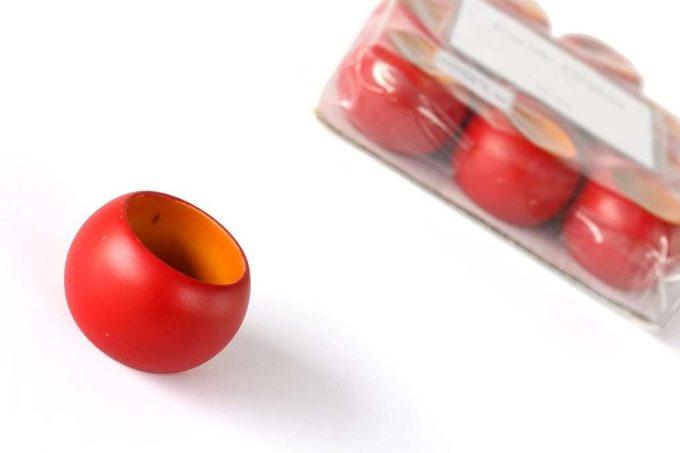 חבקים למפיות בצבע אדום