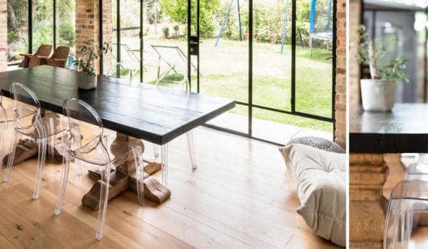 רהיטים מעץ מלא – תוספת מושלמת לבתים בסגנון מודרני