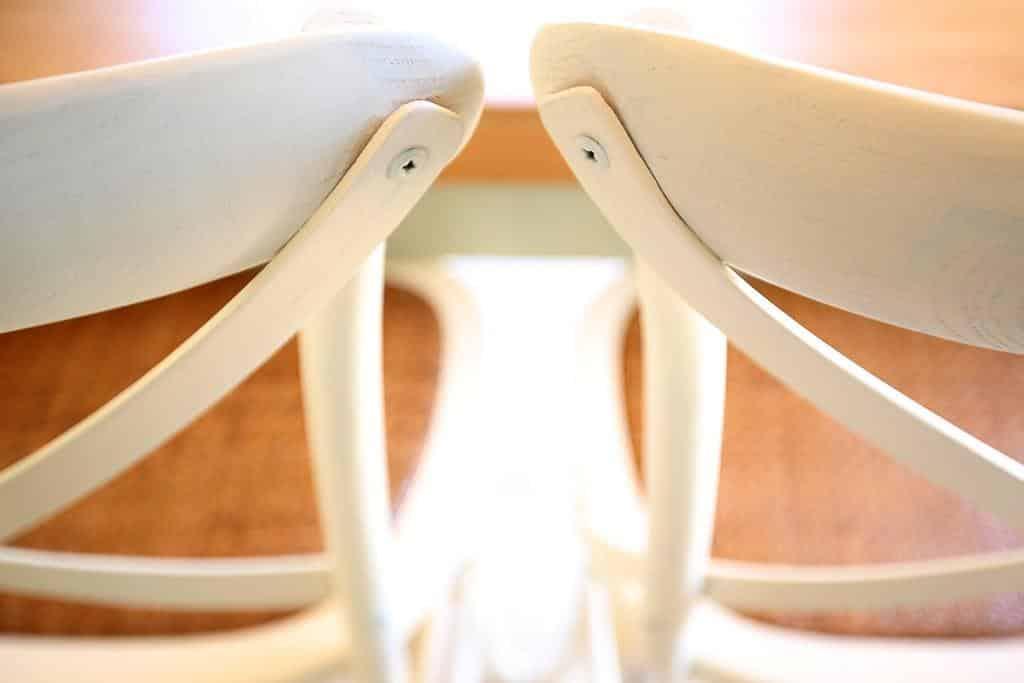 כסאות אוכל שמנת