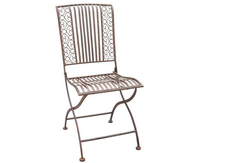 כסא מתקפל ממתכת