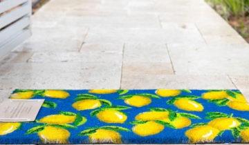 שטיחי כניסה הפתרון החורפי המושלם לעיצוב המבואה