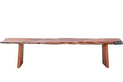 ספסל ארוך מעץ טיק