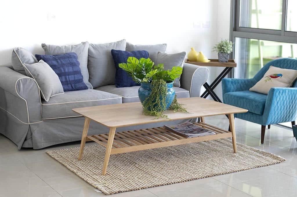 שולחן סלון בסגנון רטרו
