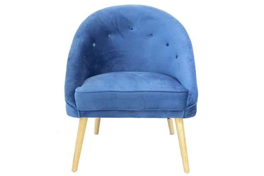 כורסא כחול רויאל