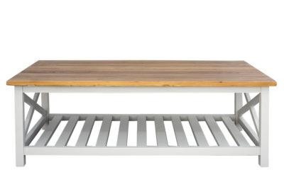 שולחן סלון גדול עם מדף גדול