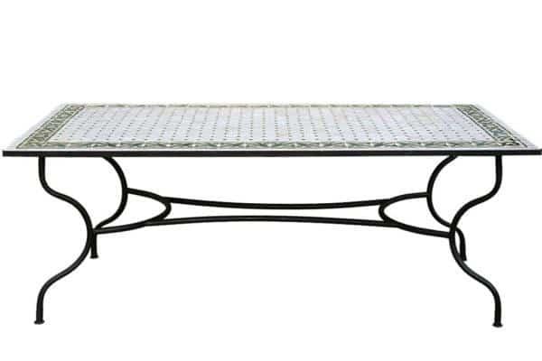 שולחן גינה פסיפס גדול