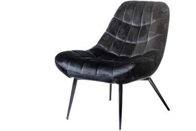 כורסא שחורה קטיפה