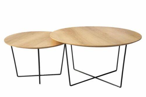 שולחן עגול מינימליסטי