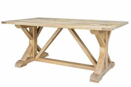שולחן אוכל מעץ טבעי