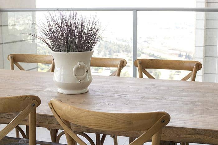 שולחן אבירים למרפסת