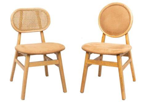 כסאות אוכל מרופדים