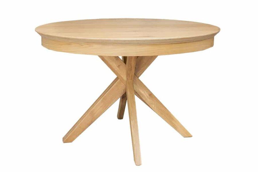 שולחן עגול עם הגדלות