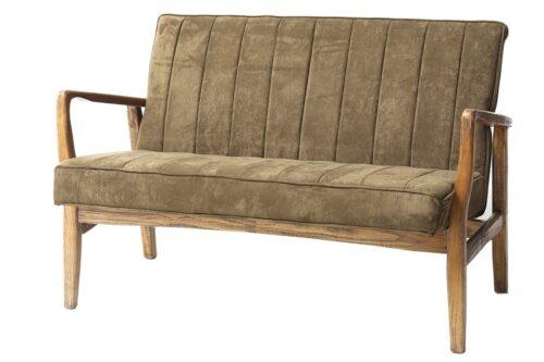 ספה זוגית וינטג' דו מושבית