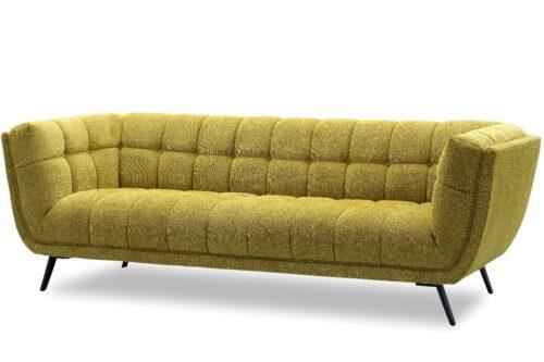 ספה תלת חרדל ארוכה