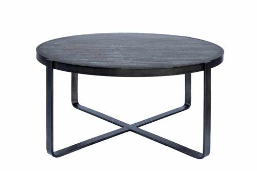 שולחן שחור מעוצב לסלון