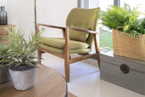 כורסא רטרו ירוקה