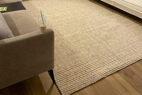 שטיח חבל וצמר
