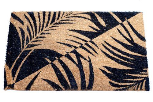 שטיחון מודפס עלים