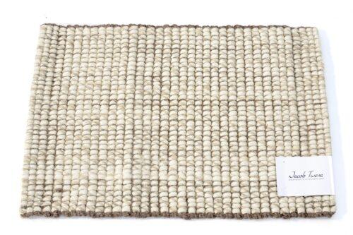 שטיח צמר וחבלים