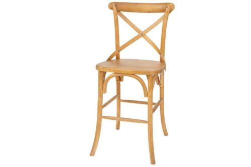 כסא מושב עץ