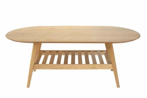 שולחן רטרו מעץ טבעי