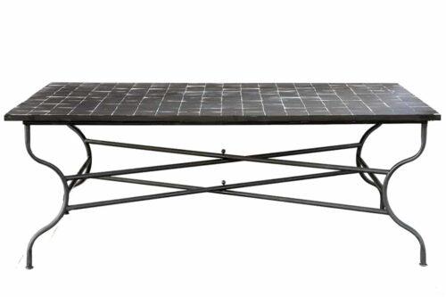 שולחן גינה שחור