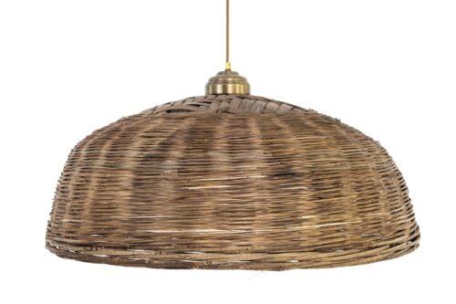מנורה עגולה מראטן