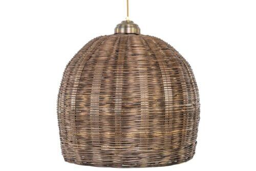 מנורה מעוגלת מראטן